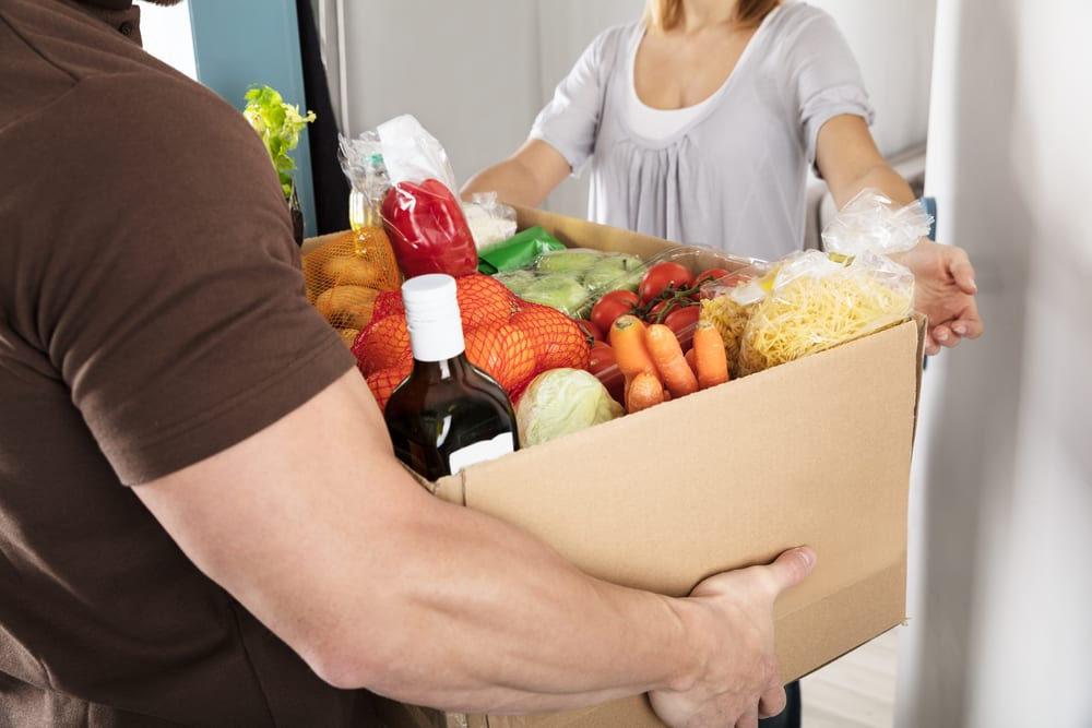 E-commerce grocery shopping