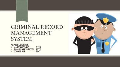 crime record management system project in php and mysql,crime management system project in php free download, online crime reporting system project documentation pdf